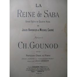 GOUNOD Charles La Reine de Saba Opera 1900