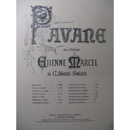 MESSAGER André Pavane de Saint-Saëns Piano 1878