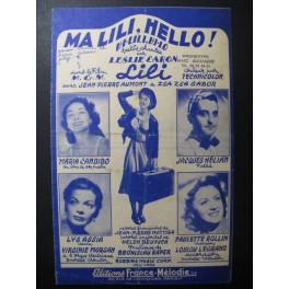 Ma Lili, Hello Chanson 1952