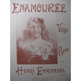EMMANUEL Henri Enamourée pour Piano