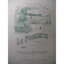 BOISSIÈRE Frédéric La Pâquerette Chant Piano 1900