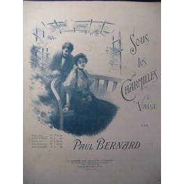 BERNARD Paul Sous les Charmilles Piano 1902