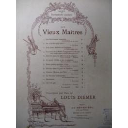 GERVAISE Claude Branle Piano 1896
