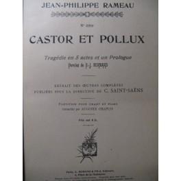 RAMEAU Jean-Philippe Castor et Pollux 1903