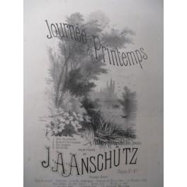 ANSCHUTZ J. A. Dans les Prairies Piano ca1880