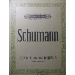 SCHUMANN Robert Sonate en Sol min Piano 1948