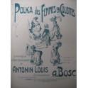 BOSC Auguste Polka des Femmes en Culottes Piano 1911