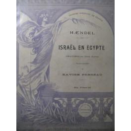HAENDEL G. F. Israël en Egypte Oratorio
