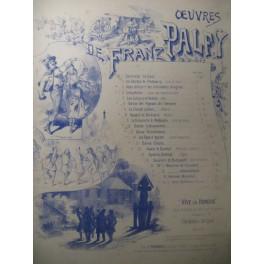 PALFY Franz La Noce Bohême Piano ca1890