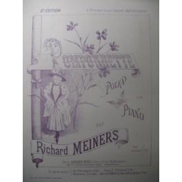 MEINERS Richard Pomponnette Piano XIXe
