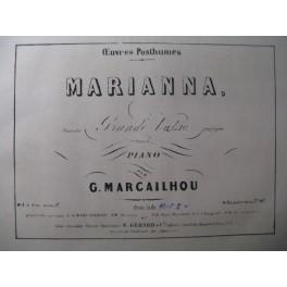 MARCAILHOU G. Marianna Piano XIXe