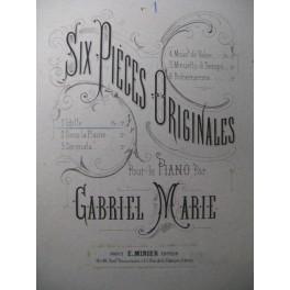 MARIE Gabriel Idylle Piano XIXe