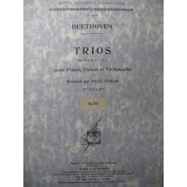 BEETHOVEN Trios Vol 2 Piano Violon Violoncelle