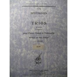 BEETHOVEN Trios Vol 3 Piano Violon Violoncelle