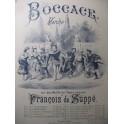 SUPPÉ Boccace Marche Piano ca1880