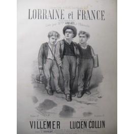COLLIN Lucien Lorraine et France Chant Piano XIXe