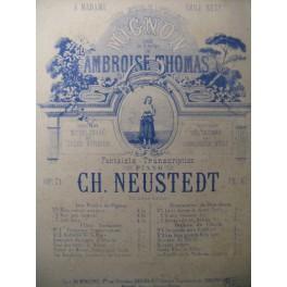 NEUSTEDT Ch. Mignon Fantaisie Piano ca1866