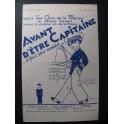 Avant d'être Capitaine Chanson 1932