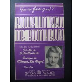 Pour un peu de Bonheur Chanson 1935
