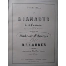 AUBER D. F. E. Les Diamants de la Couronne Opera ca1860