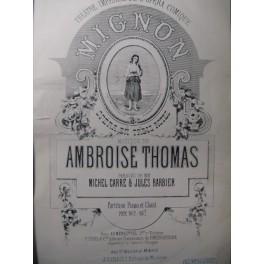THOMAS Ambroise Mignon Opera XIXe