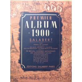 PREMIER ALBUM 1900 Chant Piano 1940