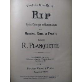 PLANQUETTE Robert RIP Opéra ca1885