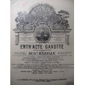 THOMAS Ambroise Entr'acte Gavotte Piano 4 mains ca1870