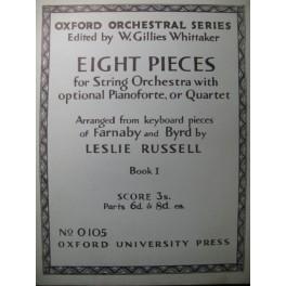 BYRD William 4 Pièces pour orchestres à cordes