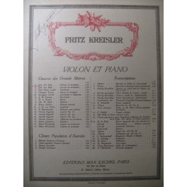 BACH J. S. Prélude en mi majeur Violon Piano