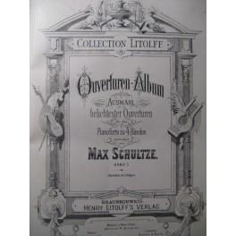 Album d'Ouvertures & Diabelli Sonates Piano 4 mains
