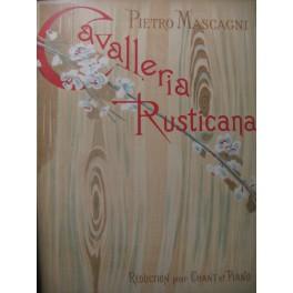 MASCAGNI Pietro Cavalleria Rusticana Opera 1900