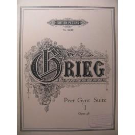 GRIEG Edvard Peer Gynt Suite n°1 Piano
