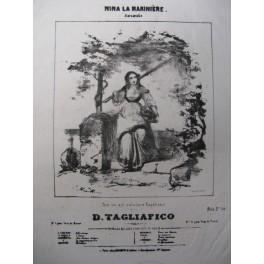 TAGLIAFICO D. Nina la Marinière Chant Piano XIXe