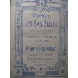 BERNICAT Firmin François les Bas Bleus Opera XIXe