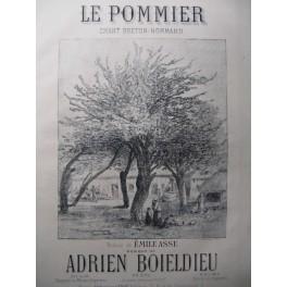 BOIELDIEU Adrien Le Pommier Chant Piano 1881