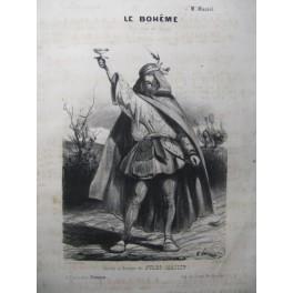 MASSIP Jules Le Bohême Chant Piano XIXe