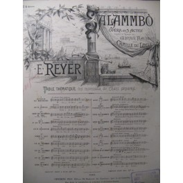 REYER E. Alambo n° 5 Chant Piano ca1890