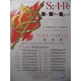CARYLL Ivan S.A.R. n° 7 Chant Piano 1909