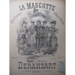 DERANSART Ed. La Mascotte Piano 4 mains ca1885