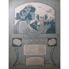 Album Musica n° 3 Décembre 1902 Piano Chant