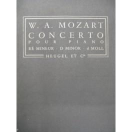 MOZART W. A. Concerto K466 Piano Orchestre