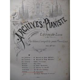 WEBER Le Freischütz Piano solo ca1868