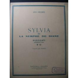 DELIBES Léo Sylvia ou la Nymphe de Diane n° 10 Piano 1962