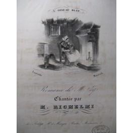 THYS A. L'Oiseau Bleu Chant Piano ca1830