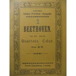 BEETHOVEN Quartett op. 59 n° 3 Violon Alto Violoncelle