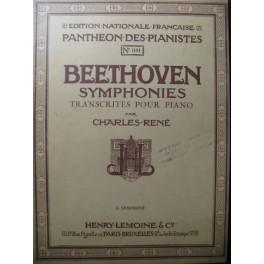 BEETHOVEN Symphonie n° 5 Piano