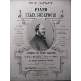 GODEFROID Félix Les Soupirs Piano ca1850