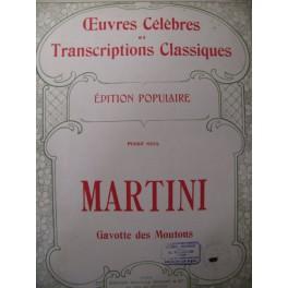 MARTINI Gavotte des Moutons Piano