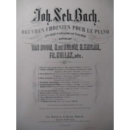 BACH J. S. Chromatische Fantasie und Fuge Piano